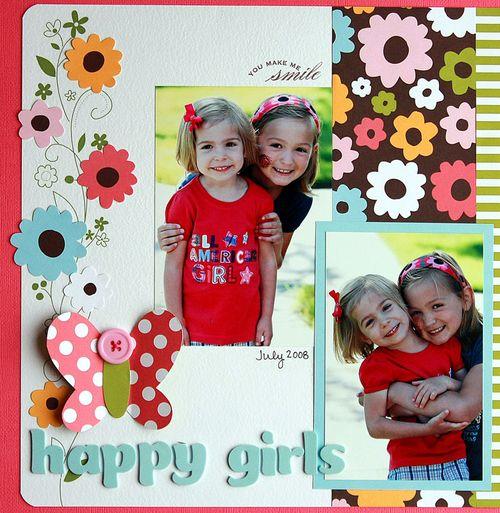 SR March happy girls